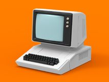 Old personal computer Royalty Free Stock Photos