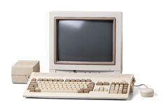 Old personal computer Stock Photos