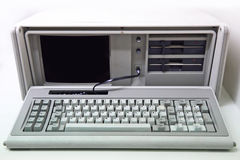 Old personal computer Royalty Free Stock Images