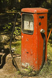 Old petrol pump Stock Image
