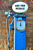 Old petrol pump Stock Images