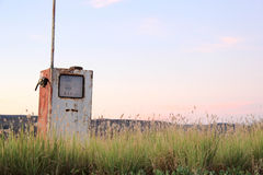 Old Petrol pump Royalty Free Stock Photography