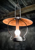 Old petroleum lamp. At a stable Stock Photography