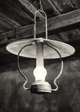 Old petroleum lamp Stock Photography