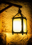 Old petroleum lamp Royalty Free Stock Photography