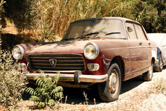 Old Peugeot 404 Royalty Free Stock Image