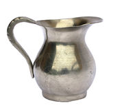 Old pewter jug Stock Images
