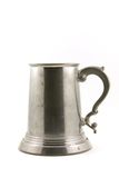Old pewter mug Stock Images