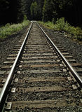 Old PGE Railroad Track, BC Canada Royalty Free Stock Photos