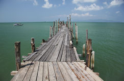 Old phangan ferry koh samui thailand Royalty Free Stock Images