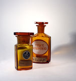 Old Pharmaceutical Phials Royalty Free Stock Photography