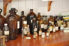 Old pharmacy detail royalty free stock photos