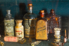 Old pharmacy. Museum in 1730. Photography allowed stock photography