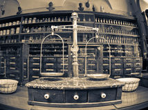 Old pharmacy museum Stock Photos
