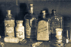 Old pharmacy museum Stock Images