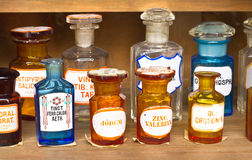 Old pharmacy museum Royalty Free Stock Image