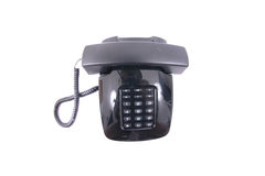 Old phone. Isolated on the white background Royalty Free Stock Images