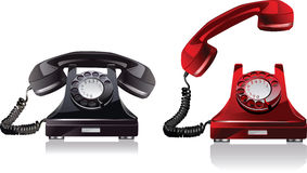 Old phone. Royalty Free Stock Images