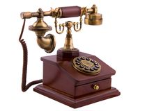 Old phone. The old phone with disc dials Royalty Free Stock Images