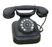 Old phone. With Clipping Path Stock Photography
