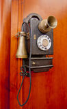 Old phone. On white Royalty Free Stock Photography