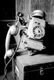 Old phone. Retro style communication Royalty Free Stock Image