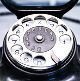 Old phone. Old telephone - nice close up Stock Photo