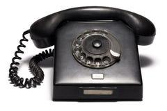 Old Phone. Retro Phone Isolated on White Background Stock Images