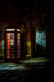 Old phone box royalty free stock photos