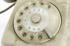 Old phone call keys Stock Images