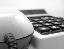 Old Phone Detail Royalty Free Stock Photography