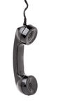 Old Phone Handset Hanging Royalty Free Stock Photos
