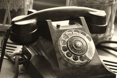 An old Phone Stock Photo