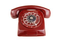 Old phone Royalty Free Stock Images