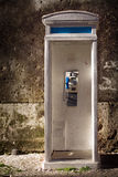 Old phonebooth stock images