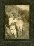 Old photo. Royalty Free Stock Image