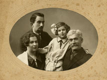 Old photo. Stock Photo