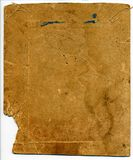 Old photo 3. Aged photo card back side, can be used as a background Stock Images
