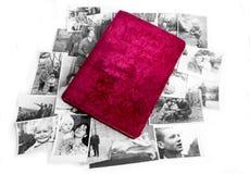 Old photo album Royalty Free Stock Photos