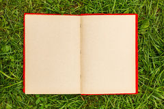 Old photo album with blank pages Royalty Free Stock Photo