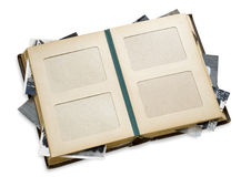 Old photo album Royalty Free Stock Photos