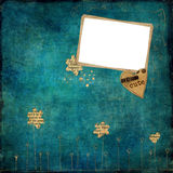 Old photo album page Royalty Free Stock Photo