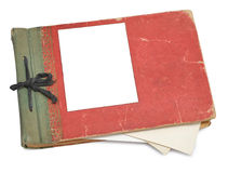 Old photo album with photos Royalty Free Stock Photo