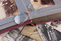 Old Photo album Royalty Free Stock Photo