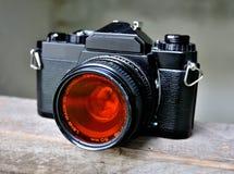 Old Photo Camera Stock Image