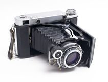 Old photo camera Royalty Free Stock Images