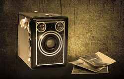 Old photo camera 2 Royalty Free Stock Photography