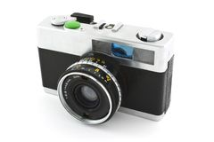 Old photo camera Royalty Free Stock Photography