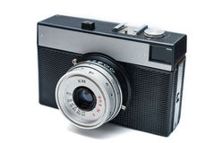 Old photo camera. Royalty Free Stock Image