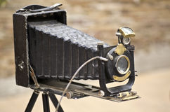 Old photo Camera. Antique Old of photo Camera Stock Photo
